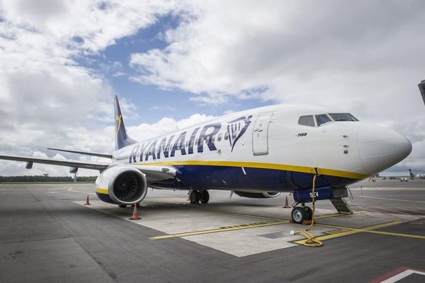 Les vols Ryanair reprendront de Bruxelles et Charleroi dès juillet