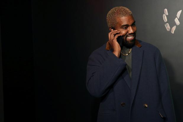 Kanye West est en Belgique
