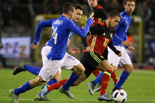 Van tonnen ervaring tot efficiënte aanvallers: Italië-België in 10 cijfers