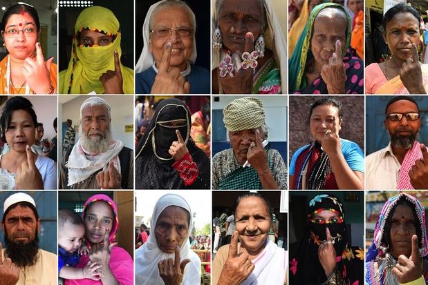"""""""Chaque vote compte"""": début en Inde des plus grandes élections de l'Histoire"""