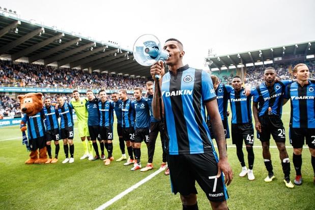 """Bruges fête son sacre par un """"match virtuel pour le titre"""" gagné 16-0"""