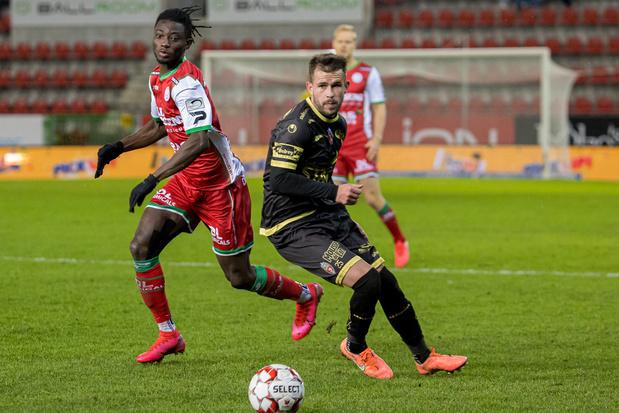Deuxième succès d'affilée pour Mouscron, qui s'impose 1-2 à Zulte Waregem