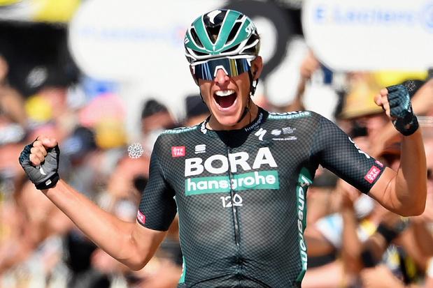 Tour: aanvaller Nils Politt wint solo twaalfde etappe