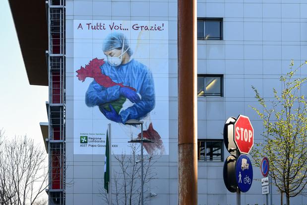 Italie: La surmortalité a atteint 100% au pic de la pandémie