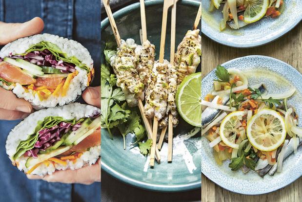 Recettes: trois plats de poisson sans aucune cuisson