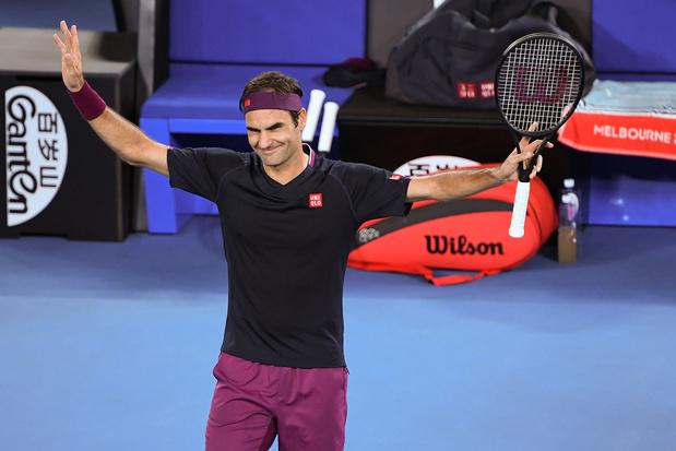 Open d'Australie: Federer au 2e tour au pas de charge