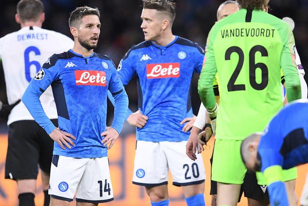 Belges à l'étranger: Naples bat Sassuolo 2-0, Mertens suspendu contre l'Inter de Lukaku