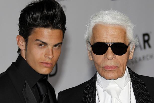 Premier héritier de Karl Lagerfeld, Baptiste Giabiconi victime d'une homophobie virulente