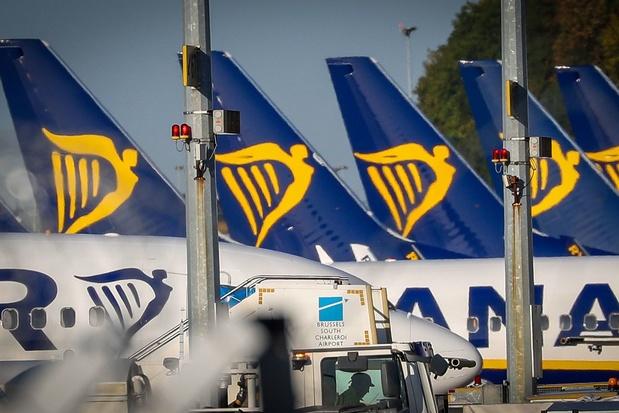 Ryanair supprime 250 emplois à Dublin, Londres, Madrid et Wroclaw