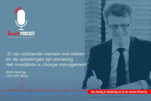 Trends Podcast: hoe staat het met de digitalisering van de Belgische bedrijven?