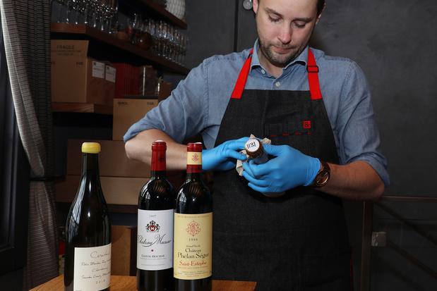 Dix restaurants belges primés pour leur sélection de vins