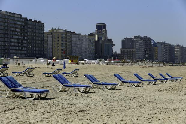 Il ne faudra pas réserver pour profiter de la plage à Blankenberge cet été