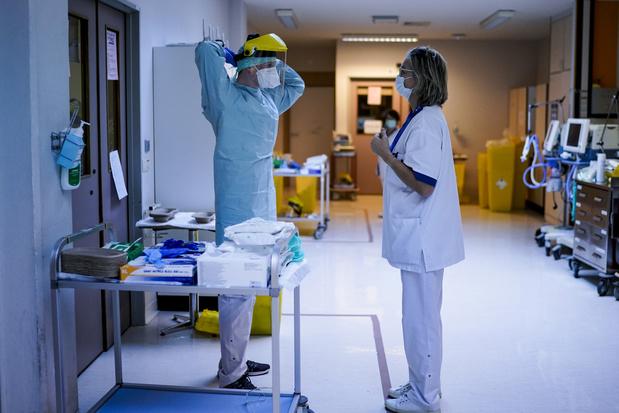 Covid: Un peu moins de 1.600 patients hospitalisés