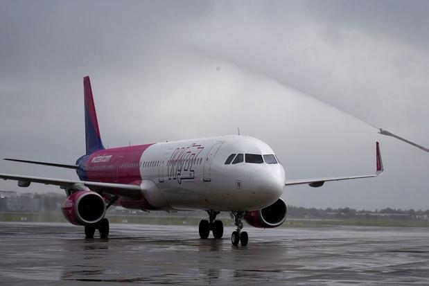 Wizz Air a lancé sa liaison entre Charleroi et Koutaïssi