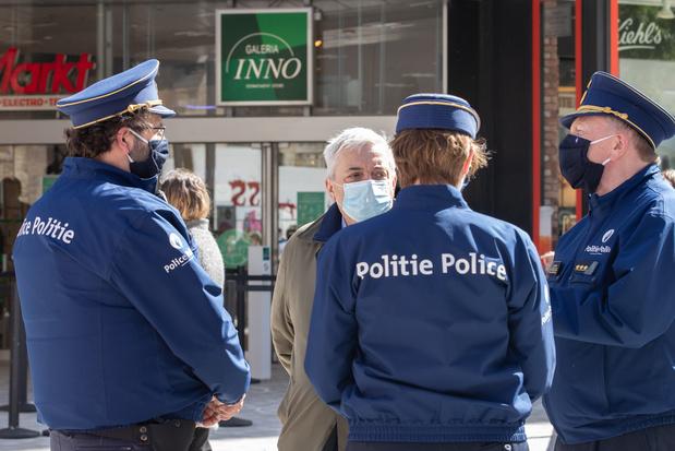 Covid: plus de 500 agents de police en quarantaine