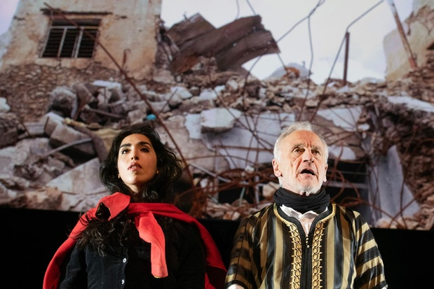Critique scène: Eschyle en Irak