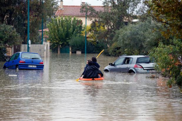 Intempéries en France: cinq morts dont trois secouristes en hélicoptère