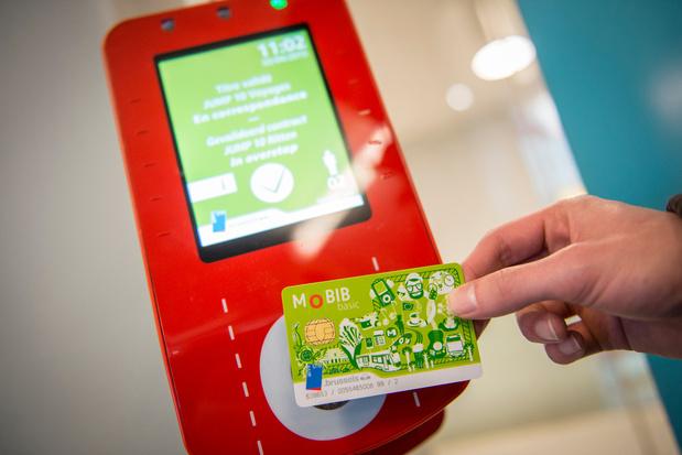 Transports à Bruxelles : Bientôt possible de payer son trajet sans contact