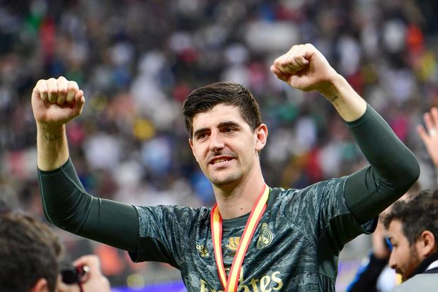Un immense Courtois pour offrir la 11e Supercoupe au Real Madrid