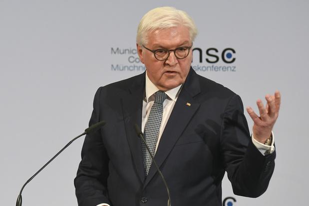 Le chef de l'Etat allemand s'en prend aux Etats-Unis de Trump