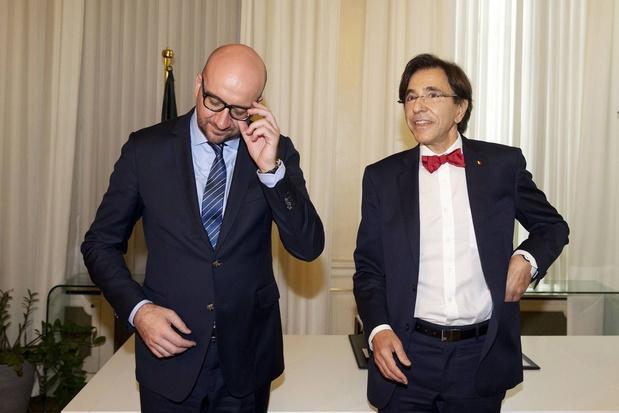"""Michel a moins épargné que Di Rupo? """"On a réduit dépenses et pression fiscale"""""""