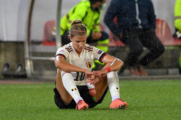 Justine Vanhaevermaet: 'In de heenwedstrijd tegen Zwitserland legden sommigen zich te veel druk op'