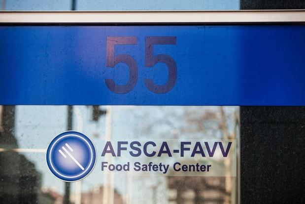 Les rappels de l'Afsca ont plus que triplé en 2018
