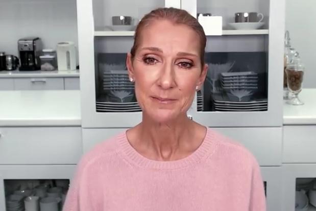 """Céline Dion rend un hommage ému aux """"héros"""" qui luttent contre le coronavirus (vidéo)"""