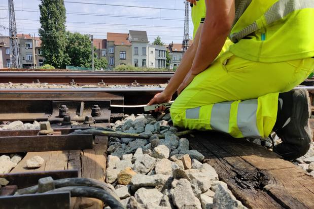 Des travaux sur le rail bruxellois toucheraient 1 navetteur sur 4 cet automne