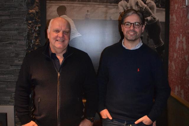 Keepertrainers Gino De Block en Kurt Vandoorne over Harelbeke - Mandel - Krant van Westvlaanderen