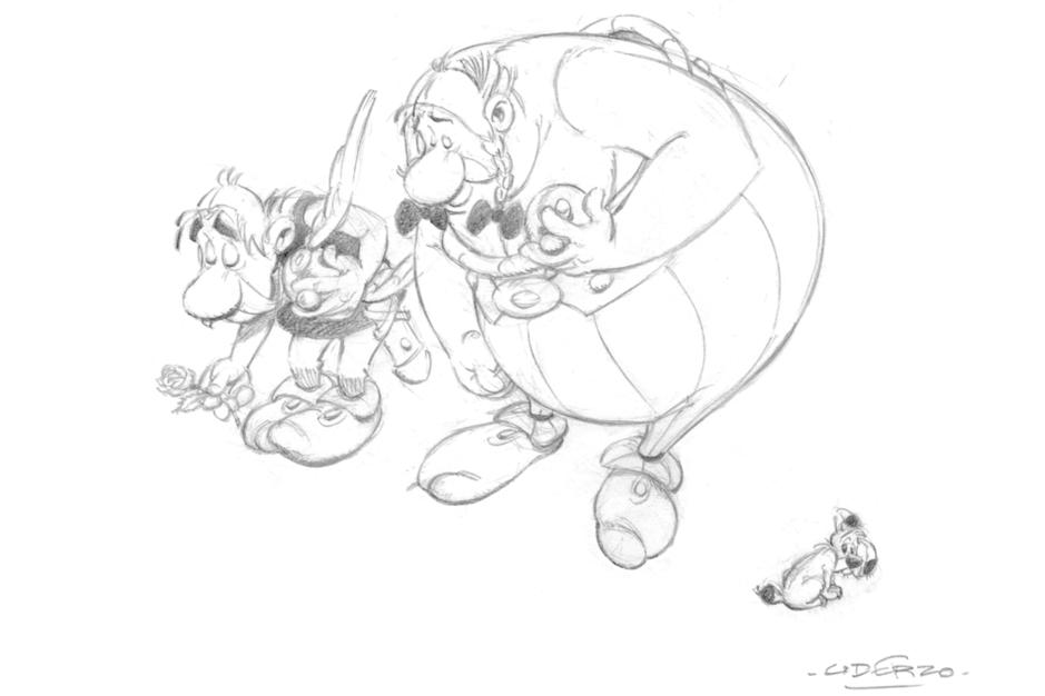 Les hommages à Uderzo tombent par dizaines: compilation de dessins