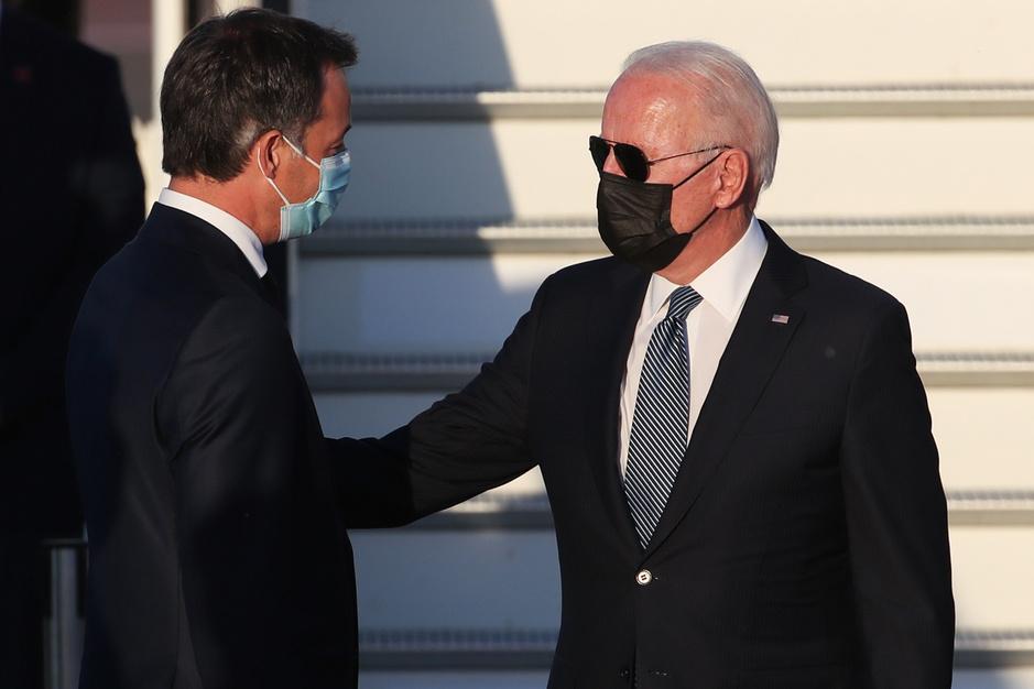 Le président américain Joe Biden est arrivé en Belgique (en images)