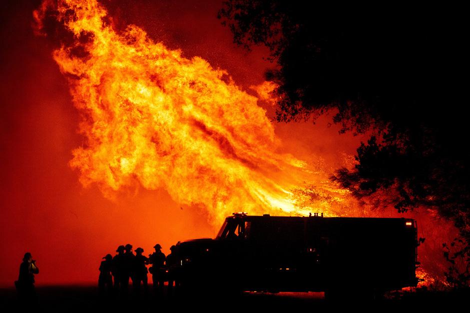 Portfolio : les images spectaculaires des incendies qui ravagent la côte ouest des États-Unis