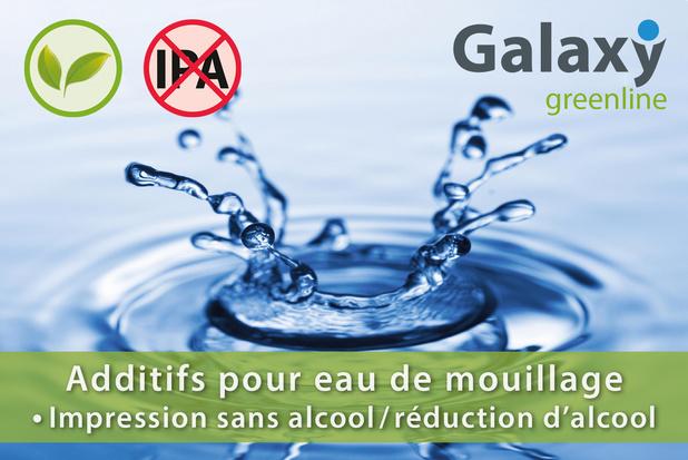 Igepa Belux présente Galaxy Greenline: une nouvelle gamme d'additifs pour eau de mouillage