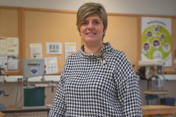 """Charlotte Strobbe is de nieuwe directeur van VTI Tielt: """"Dit is een warme school"""""""
