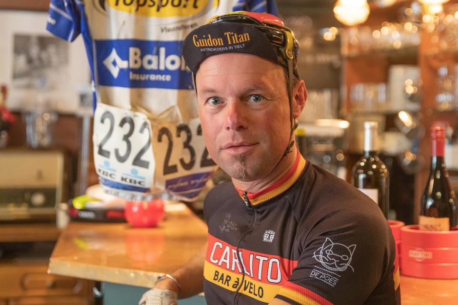 """Lode Bogaert: """"De Carlito in 'Vive le vélo': ik viel steil achterover"""""""