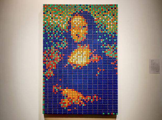 La Joconde en Rubik's Cube d'Invader mise aux enchères