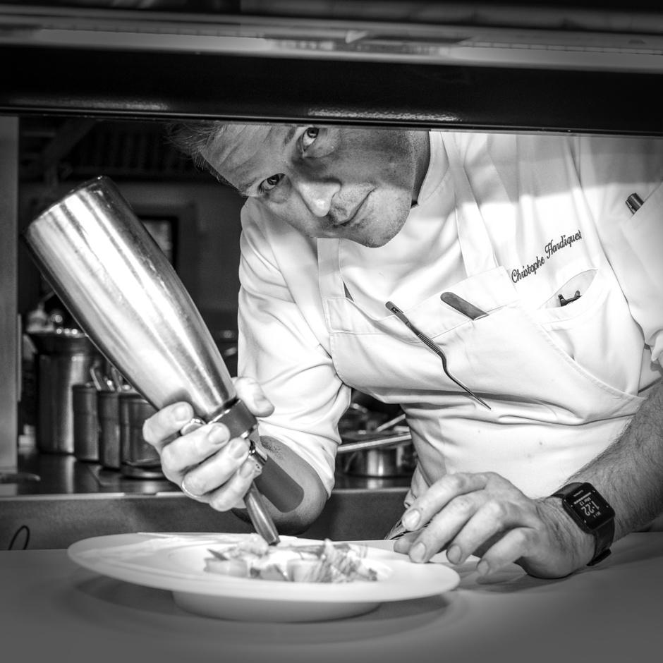"""Christophe Hardiquest (restaurant Bon Bon à Bruxelles): """"Mes gars me manquent"""""""