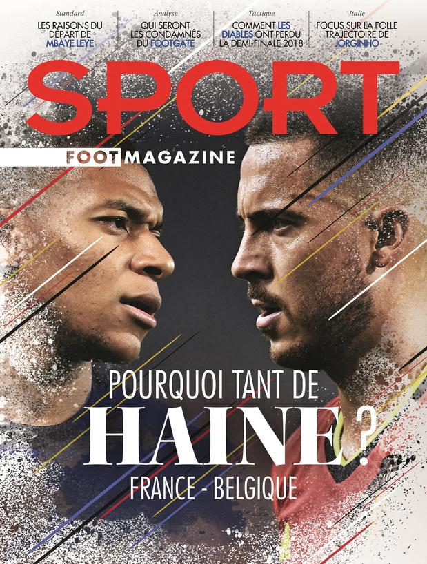 Au menu de Sport/Foot Mag: la rivalité France-Belgique et les coulisses du départ de Leye