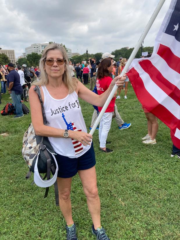 Pro-Trump-betoging in Washington is maat voor niets
