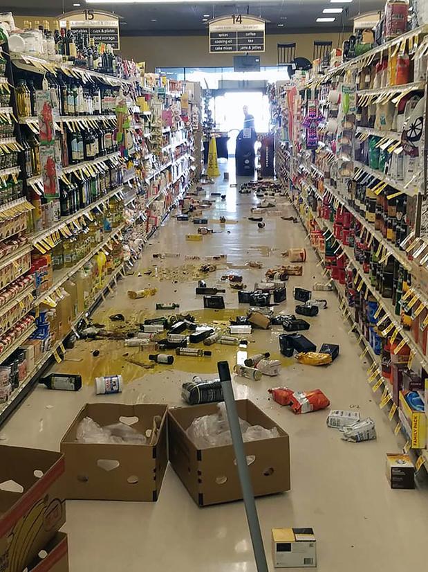 Un séisme de magnitude 6,4 ébranle la Californie, pas de dégâts majeurs
