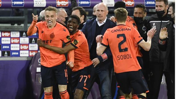 Jupiler Pro League: la délivrance pour le Club Bruges!
