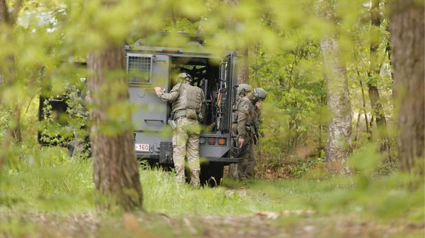 Chasse à l'homme en Flandre: Opération de police au du parc national des Hoge Kempen