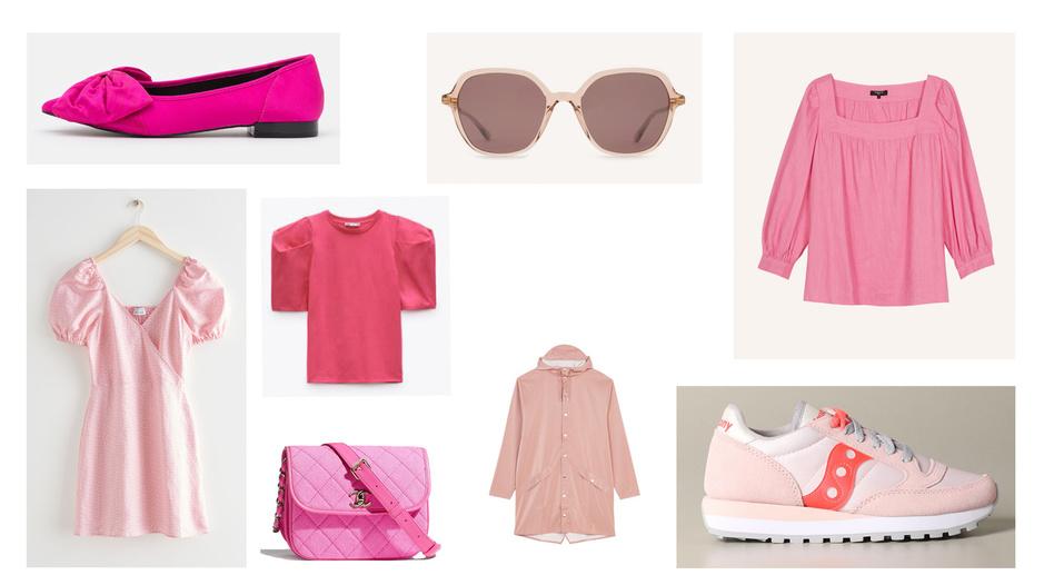 Shopping: 20 manières de voir la vie en rose cette saison