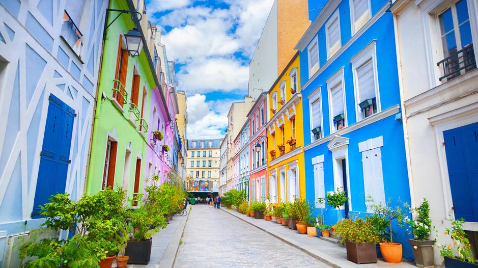 Le monde en technicolor: 20 destinations archicolorées