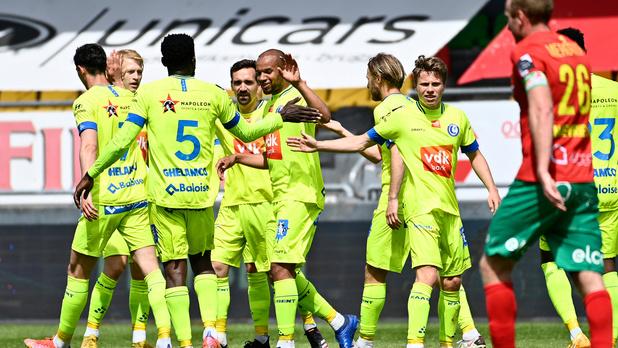 La Gantoise gifle Ostende (0-4) et prend provisoirement la tête des Europe playoffs