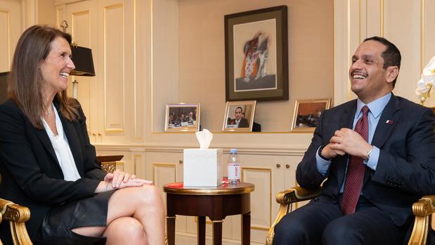 Nations Unies: Sophie Wilmès remercie le Qatar pour son aide pour les évacuations depuis Kaboul