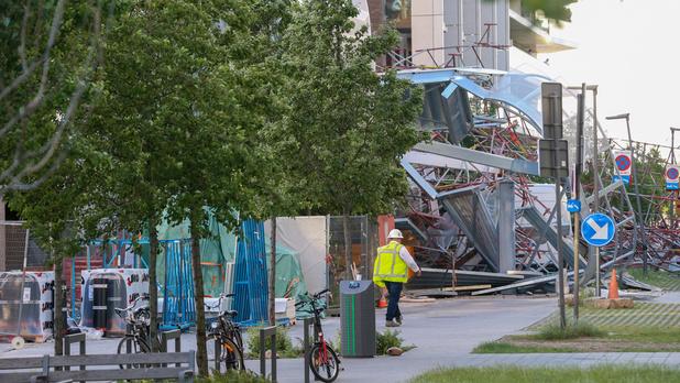 """Effondrement d'un bâtiment à Anvers: """"Je vois des Afghans trimer à cinq euros de l'heure"""""""