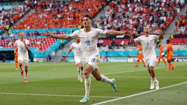 EURO 2021: la République tchèque surprend les Pays-Bas (0-2) et rejoint le Danemark en quart