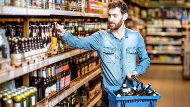 Forte augmentation du prix de la bière en supermarché